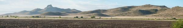 Photo V. Ollivier: Paysage environnant le site Néolithique de Gadashrili Gora (Géorgie)